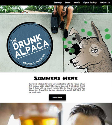 The Drunken Alpaca