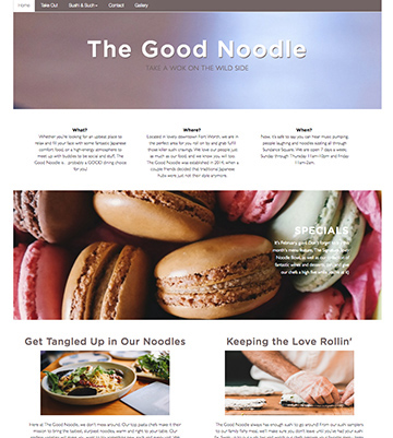 The Good Noodle